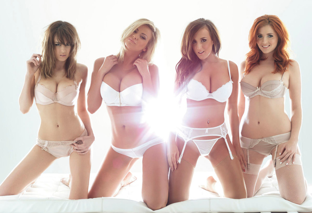 Danielle Sharp, Leah Francis, Stacey Poole y Lucy V Collett