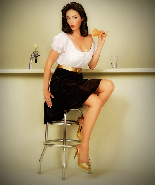 Heidi Van Horne pin up girls
