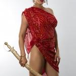 Sunny Leone indian style